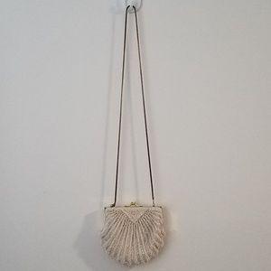 Handbags - Ornate Beaded Shell Purse